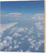Flying To Toronto, July 2014 Wood Print