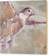 Flying Wood Print