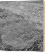 Foam Frozen In Time Wood Print