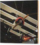Focker Tri-plane Wood Print