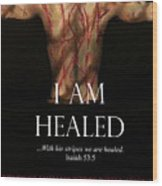 Fofmi Anointed Healing Tshirt Wood Print