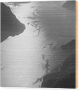 Fog Over The Iseo Wood Print