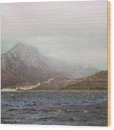 Fog, Wind And Waves Wood Print