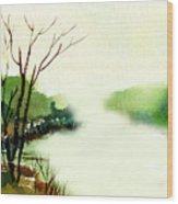 Fog1 Wood Print