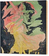 Folies Bergeres Wood Print
