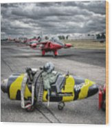 Folland Gnat  Wood Print