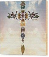 Follow Jesus Wood Print
