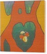 Follow Your Heart Wood Print