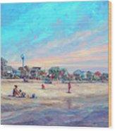 Folly Beach South Carolina Wood Print
