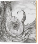 Fomorii Incubator Wood Print