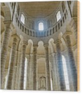 Fontevraud Abbey Chapel, Loire, France Wood Print