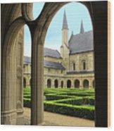 Fontevraud Abbey Wood Print