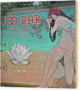 Foo Bar Artwork Wood Print