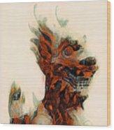 Foo Dog Wood Print