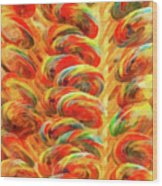 Food - Candy - Lollipops Wood Print