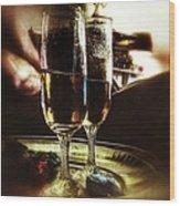 #food #diet Wood Print
