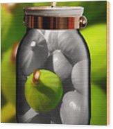 Food Fruit Figs 1 Wood Print