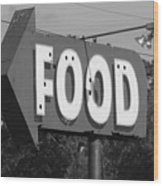 Food Wood Print