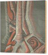 Foot Wood Print