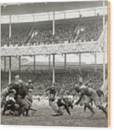 Football Game, 1916 Wood Print