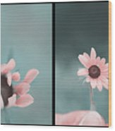 For You - Diptych Wood Print