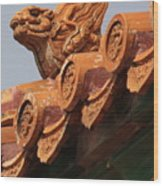 Forbidden City Guardian Wood Print