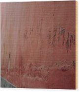 Forbidden Graffiti Wood Print