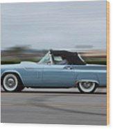 Ford - Thunderbird Wood Print