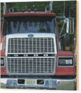 Ford 9000 Power And Confort... Wood Print
