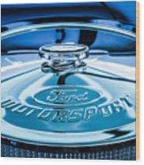 Ford Air Filter Lid Wood Print