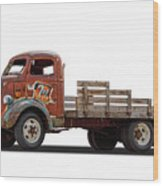 Ford Classic 7 Up Truck Wood Print