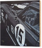 Ford Cobra Racing Coupe Wood Print