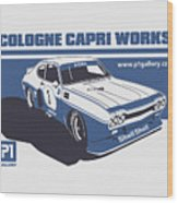 Ford Cologne Capri Works Wood Print