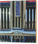 Ford Deluxe Grille Wood Print