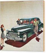 Ford Wood Print