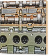 Ford Ecoboost Cylinder Head Wood Print