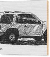 Ford Explorer Wood Print