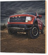 Ford F 150 Raptor  Wood Print