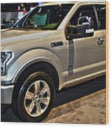 Ford F150 Fx4 Platinum Wood Print
