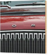 Ford Falcon Details Wood Print