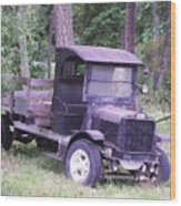 Ford Flatbed Wood Print