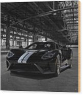 Ford Gt '66 Heritage Edition Wood Print