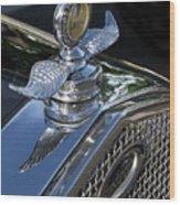 Ford Hood Emblem Wood Print