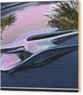 Ford Hood Ornament 56 Wood Print