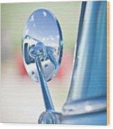 Ford Mirror Wood Print
