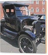 Ford Model T1 Wood Print