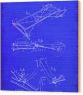 Ford Motor Vehicle Drawing 1b Wood Print