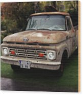Ford Pickup, Ford 1964 Wood Print