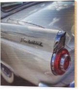 Ford Thunderbird Fender Color  Wood Print