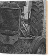 Ford Tractor Wood Print